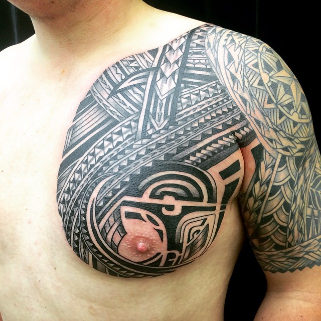 Polynesian influenced marcdiamond @studioxiiigallery
