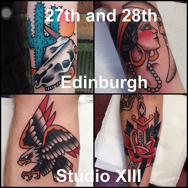 First day open after Christmas will have this fine gentleman tattooer @gavinlyons88 guesting with us. Go give him a follow and take the opportunity to book in for a cracking tattoo! His work is beautiful. studioxiii edinburghtattoostudio guestspot @where_they_tatt