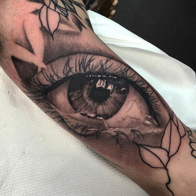 Eye Tattoo On Inner Arm | www.pixshark.com - Images ...