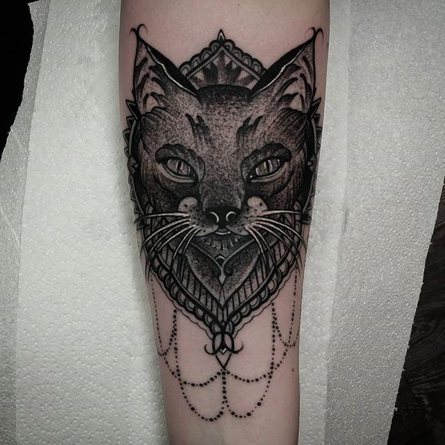 blackwork mandala cat tattoo I made yesterday here @reykjavikink in reykjavik Icelandstudioxiii mandalatattoo  dotwork  traditionaltattoo miamitattoos miamibeach miamitattoo southbeach tattoos  wynwood miamitattooartist tat inked inkedup followforfollow guyswithtattoos girlswithtattoos besttattoos besttattoo  uktattooartist  kingpintattoosupply miami stipple Edinburgh
