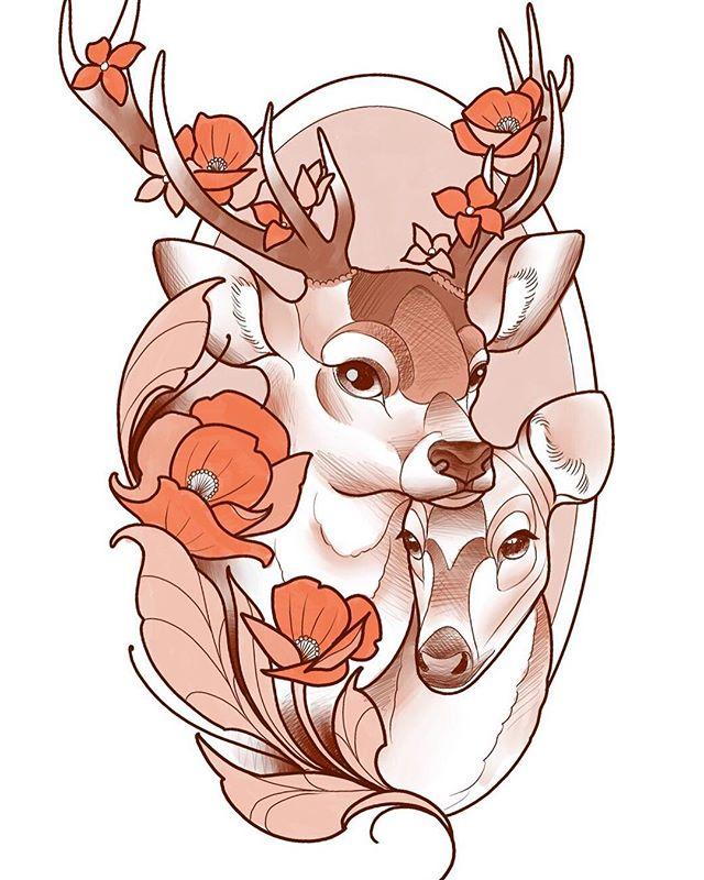 Sketch for tomorrow at @studioxiiigallery studioxiii tattooshop edinburgh scotland newtraditionalgallery newtraditionaltattoo neotradeu inked_animals neotraditionaltattoo newtattooworkers tattoocolor  neotradtattoo tattoo tattoos tattoo_artist ink tattooartist tatuajes tattoo4life instattoo tattooed