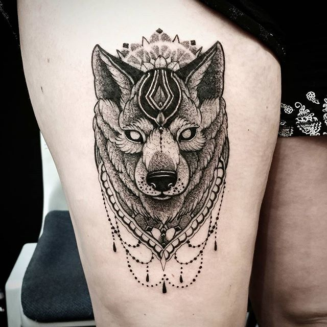 Mandala Wolf Tattoo Designs For Women I Like The: I Made Here ⋆ Studio XIII Gallery