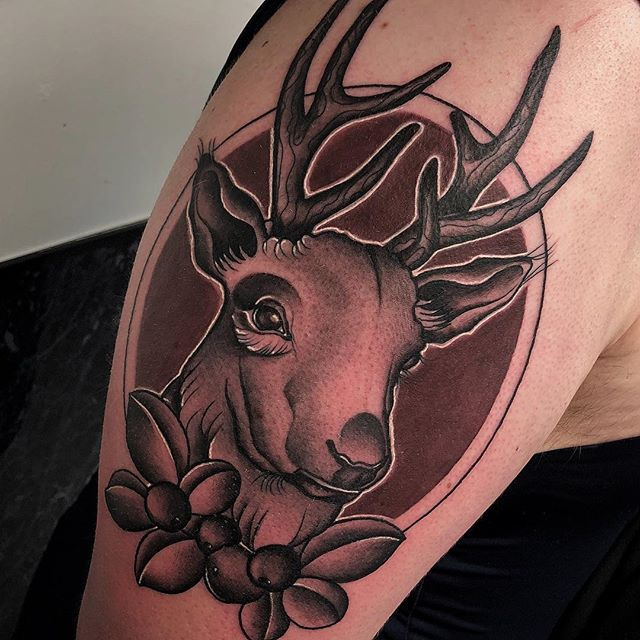 Stag from today edinburgh edinburghtattoos tattoo tattoos tattoosnob tattooed tattooink tatted tattooer tattooflash tattooart tattooist tattooing tattoolove ink inked inkaddict follow followme instart instatattoo love studioxiii stag nature picoftheday