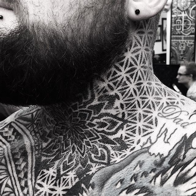 Background add on for my bro Jordie today @studioxiiigallery studioxiii dotworktattoo geometrictattoo mandalatattoo btattooing uktta  blxckink dotworkers tttism ornamentaltattoo mandala tattoo art blacktattooing blackworkerssubmission @artof_black blackwork blacktattoo BlackClawUK blackclaw tattoolife instinctsubmission dailydotwork  specialtatts theartoftattoos uktta blxckink @artof_black btattooing