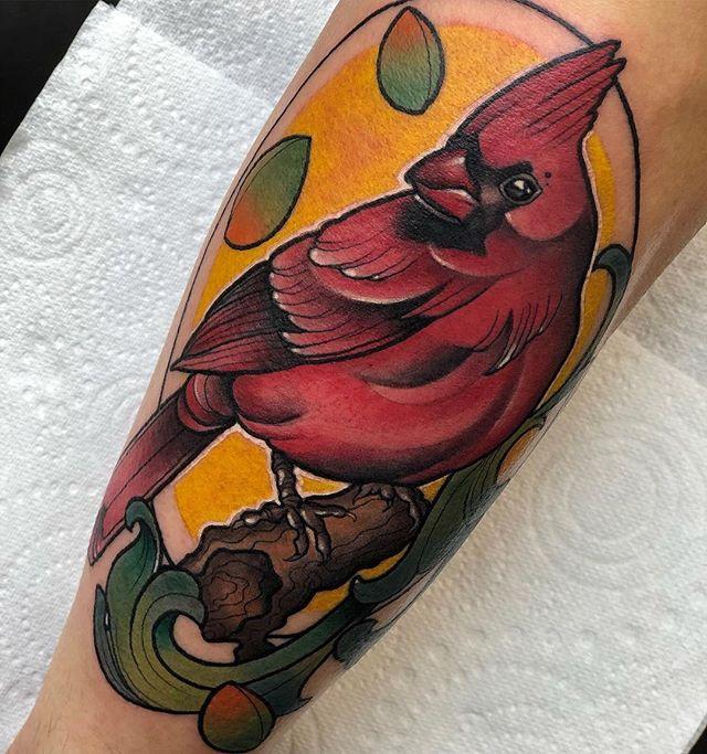 ️Had the pleasure to tattoo this from my flash on James️ edinburgh edinburghtattoos scotland tatted tattoo tattoos tattooed tattooer tattooing tattooink tattooart ink inked inkedup inkaddict instart instatattoo newyear firstattoo follow love picoftheday studioxiii bird neotraditional neotradsub neotradeu