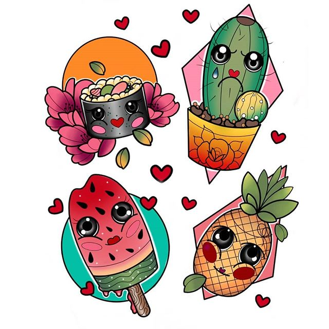 Adriana @adrianartattoo has these lil guys available for a home.. £180/200 depending on size and location. Cactus has already been shot gunned! Call the shop to book 01315582974.studioxiii tattoos tattooed tattooflash colourtattoo flowertattoo ladytattooers neotradeu neotradotional newtraditional animaltattoo brightandbold boldwillhold neotraditionaltattoo neotraditionalEurope cutetattoos girlytattoos edinburghtattooartist edinburghtattoo uktta wheretheytatt tattooart tattoodo