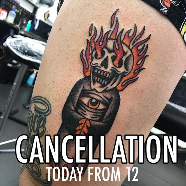I've had a cancellation today from 12 till 4. DM if you wanna get in. Cheers! @studioxiiigallery studioxiii