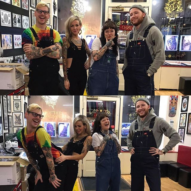 I am so in love with Edinburgh and 99% of that reason is @studioxiiigallery. Today was dungaree day ️️️ Stick to the status quo tattoo tattooartist tattooartists studioxiii edinburgh scotland edinburghtattoo highschoolmusical hsm zacefron  zacefronisperfect zacefronisahottie sticktothestatusquo weresoaringflyingtheresnotastarinheaventhatwecantreach breakingfree fabulous godyoureamess newzealanddream ruaridhism teamruairidh fangirl devon babygotback dungaree dungarees dungareeday lgbt lgbtq sendhelp theend