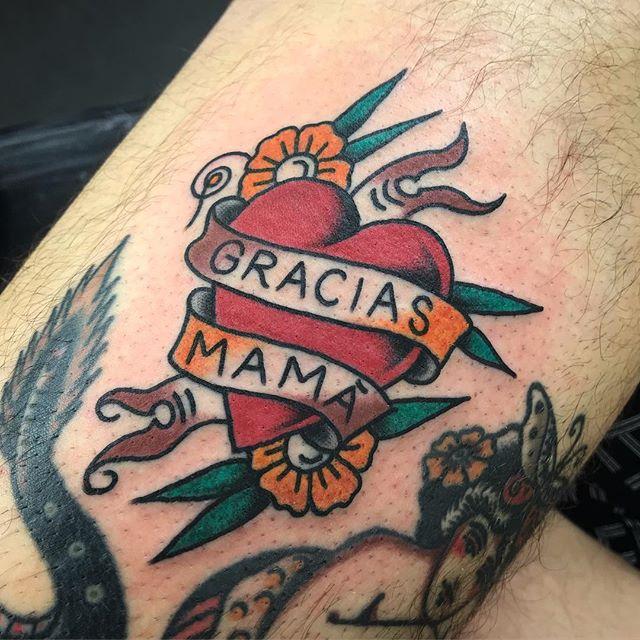 En mi amigo @chino.tattoo _________________ Done at @studioxiiigallery _________________ studioxiii BlackClawUK blackclawneedle tradtattoo tradworkers tradworkerssubmission radtrad oldlines besttradtattoos uktta vladbladirons ninemag @gap_filler_tattoos