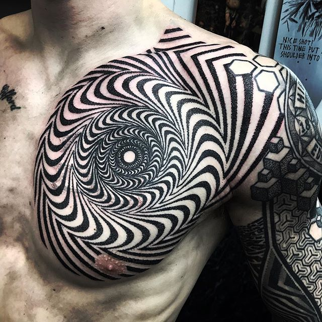 Really enjoying working on this with Graeme on this. More to come @studioxiiigallery studioxiii dotwork coverup dotworktattoo geometrictattoo sacredgeometry @allegoryink @blackclaw @dailydotwork dailydotwork @geometrip