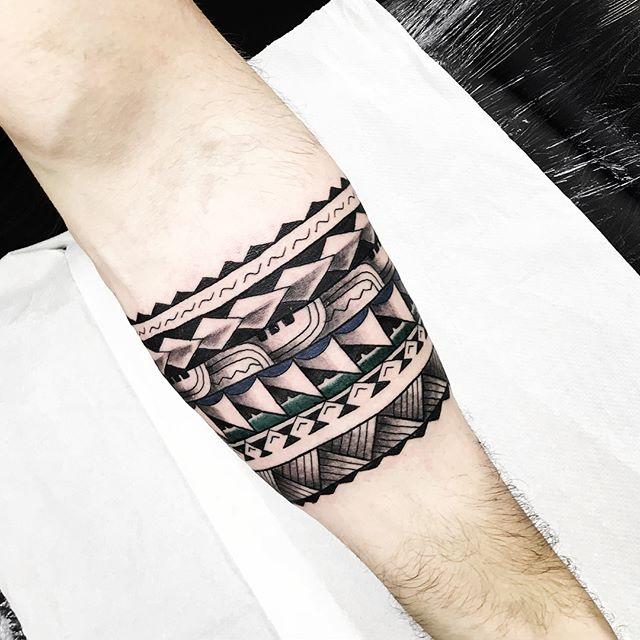 First tattoo experience for Kieran today . . @studioxiii studioxiii freehand edinburghpolynesiantattoo edinburghpolynesian edinburghtattoo edinburghtattooartist tribal polynesian inspired designs by marcdiamond polynesiantattoo