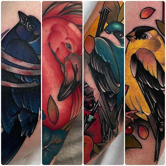 ️D e t a i l s️ edinburgh edinburghtattoos scotland tattoo tattoos tattooer tattooculture tattoocommunity tattooing tattooed tatuaje tattooart ink inked inkaddict inkedup follow instaart instatattoo bird flamingo details neotraditional neotradsub uktattoo tattooshop studioxiii