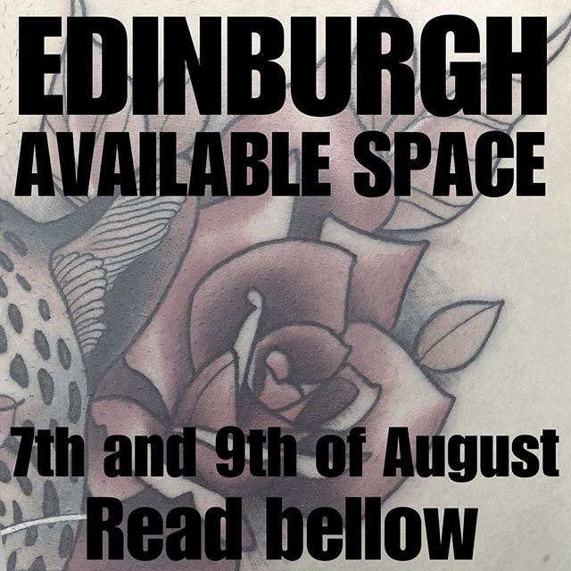 Hi Edinburgh! I'll be back next week at the lovely @studioxiiigallery. Due to a couple cancellations I've got the Tuesday 7th and Thursday 9th of August available. If you have an unfinished tattoo with me or you want to bring forward your appointment. Just call the shop directly. Also I have available designs that I would love to do! DM for more info. studioxiii tattooshop edinburgh edinburghtattoo edinburghtattoostudio edinburghtattooartist scotland scotlandtattoo tat newtraditionalgallery newtraditionaltattoo neotradeu inked_animals neotraditionaltattoo newtattooworkers tattoocolor  neotradtattoo tattoo tattoos tattoo_artist ink tattooartist tatuajes tattoo4life instattoo tattooed elitecartridges
