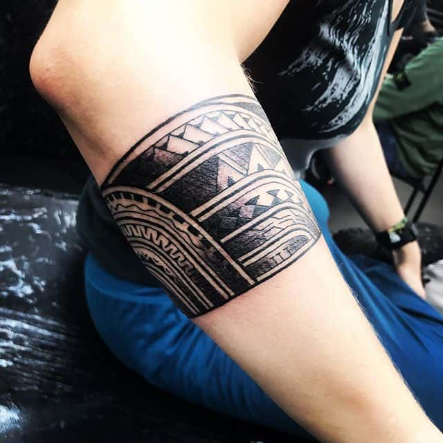 Stoked with this armband for River . . . @studioxiii studioxiii edinburghpolynesiantattoo edinburghpolynesian edinburghtattoo edinburghtattooartist tribal polynesian inspired designs by marcdiamond polynesiantattoo tribaltattoocollective freehand @best_polynesian