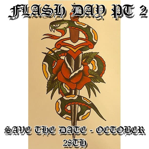 SAVE THE DATE! The time has come! Flash day pt2 coming to you October 28th, 12-6, first come first served! Last time was mad so we decided to do it all over again, this time with some added awesome bits. Full details, artists etc coming soon! tattoo tattoos traditionaltattoo boldwillhold blackworktattoo neotraditionaltattoo neotradtattoo watercolour  watercolourtattoo tribaltattoo flash tattooflash Edinburgh edinburghtattoo studioxiii tattoosuppliesuk
