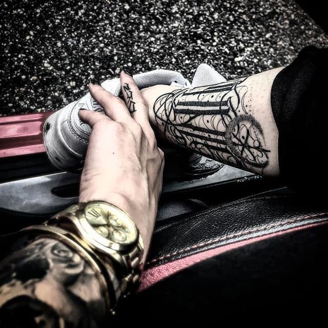 Healed photo from the awsome @itsme.tamz of healed lettering tattoo I did on her a few months back :) . . . . tsuk studioxiii newyork kingpintattoosupply london whip  dotwork miamitattoos  miamitattoo southbeach tattoos wynwood miamitattooartist girlswithtattoos besttattoos  Miami Hawaii losangeles . . .