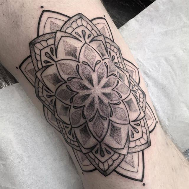 Knee mandala down in one on a brave boy ️ tattoo edinburghtattoo femaletattooartist tattooartist tattoodesign ladytattooer bestoftheday newschooltattoo photooftheday dotting mandalatattoo darkartists tttism equilattera dotwork linesanddots blackwork dotworktattoo @blackworkers_tattoo @darkartists @blackworkers kneetattoo blackworkers blackworkerssubmission topclasstattooing blackboldsociety btattooing blxckink instatattoos classictattoo mandala onlythedarkest studioxiii