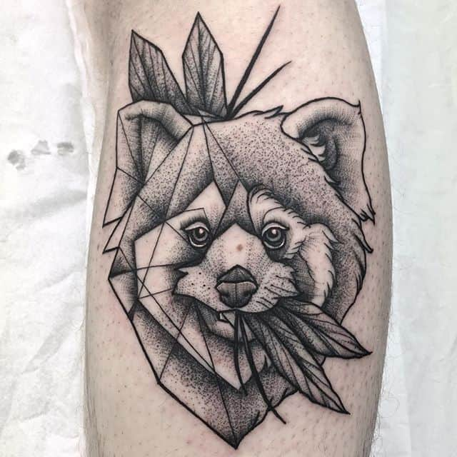 I love red pandas  So does James! Thankyou ️ tattoo edinburghtattoo femaletattooartist tattooartist tattoodesign ladytattooer bestoftheday newschooltattoo photooftheday dotting geometrictattoo darkartists tttism equilattera dotwork linesanddots blackwork dotworktattoo @blackworkers_tattoo @darkartists @blackworkers redpandatattoo blackworkers blackworkerssubmission topclasstattooing blackboldsociety btattooing blxckink instatattoos classictattoo redpanda onlythedarkest studioxiii