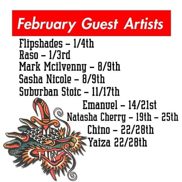 February is an insane month for guests! We've got @flipshades @raso_tattoo @mcilvennytattooer @sashanicoletattoo @suburban.stoic @manny.tattoos @natasha_cherry @chinocarretero and @tattooyauu Don't say we aren't good to you!! ———— tttism tattooworkers edinburghtattoo TAOT illustrativetattoo dotwork linetattoo darkartists blacktattooart blxckink btattooing uktta skinartmag ladytattooers studioxiii txttooing blackclaw inkstinct theblackmasters onlythedarkest blkttt waverlycolorco  blackworkerssubmission inkstinctsubmission tattoodo blacktattoomag @artof_black @blackclaw @blackworkershero @inkedmag @uktta @ninemag @theartoftattoos