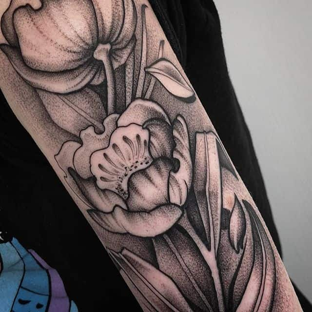 I can&039;t thank my customer enough for coming in and giving me free rein on her arm. It was an absolute pleaure. Please swipe left if you&039;d like to see the full image.studioxiii wheretheytatt floraltattoo flowertattoo blackworkerssubmission blackworknow floralillustration dotworkers dotworktattoo edinburghtattoo scotlandtattoo edinburgh graphictattoo graphicart closeupshot besttattoos besttattooers igersedinburgh edinburghlife tttism uktta uktattooartist uktattoo armtattoo blackink