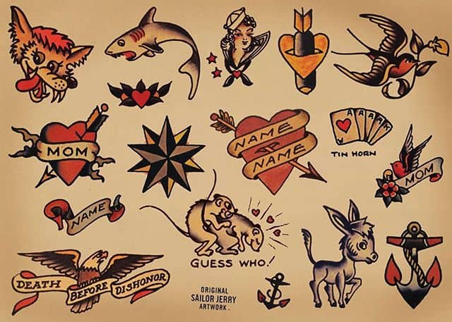 Now we know it's not even been that long since our last flash day but you're gonna love this. Save the date - Sunday, March 24th. We've teamed up with @sailorjerry  and two other studios across Scotland to do something epic. £30 Sailor Jerry flash tattoos. We'll have over 100 designs to choose from and it's first come first served. This will be VERY set numbers but with 4 artists doing this epic event, plenty will be seen. We'll be sharing an event soon explaining everything!!!! Yes. We said £30 tattoos. Yes. We're mad. ————— ————— uktattooartists uktattoo inked inkedmag skinart skinartmag traditionaltattoo tradworkers colourtattoos scotland edinburghtattoo edinburghlife scotlandtattoo uktta oldschooltattoo fineline cleanwork inkdup inkd skindeep performer besttattoos blackclaw girlswithtattoos uktattoosupplies blackclaw solidink sailorjerry blackclaw starbritecolors vladbladirons studioxiii