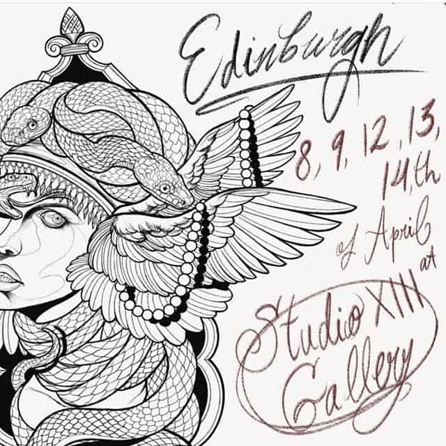 We welcome @cattattooing for her first time here super soon!! Book in quick!!! ———— tttism tattooworkers edinburghtattoo TAOT illustrativetattoo dotwork linetattoo darkartists blacktattooart blxckink btattooing uktta skinartmag ladytattooers studioxiii txttooing blackclaw inkstinct theblackmasters onlythedarkest blkttt waverlycolorco  blackworkerssubmission inkstinctsubmission tattoodo blacktattoomag @artof_black @blackclaw @blackworkershero @inkedmag @uktta @ninemag @theartoftattoos