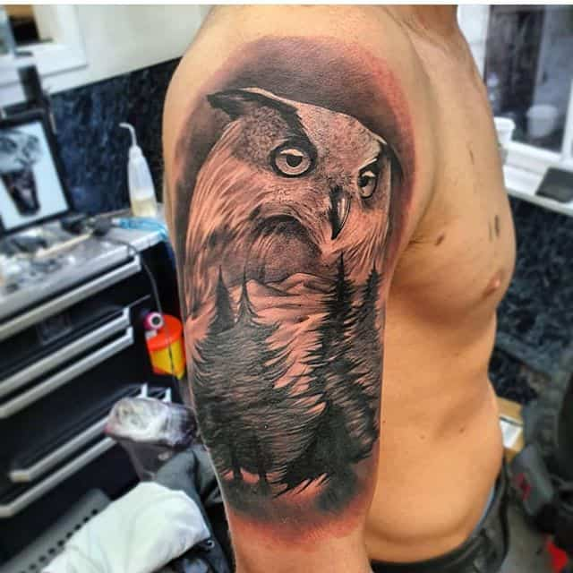 Resident @usedntattooed James had a Hoot with this one. ———— ———— ️01315582974 artwork@studioxiii.tattoo studioxiii tattoos tattooed tattooflash blackworkers bandg realism realistictattoo skull skinartmag skulltattoo lion liontattoo tattooartist edinburghtattooartist edinburghtattoo girltattoo blackclaw uktta ttt eztattoocartridges ukbta skindeep txtooing tattoomediaink thebesttattooartist tattoosnob tattooart