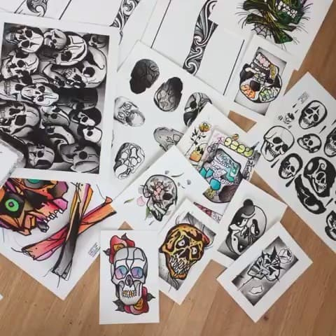 Here's a video of some flash. Just a hand full of some of the flash that's on offer, pop down to shop to check out more. . . tattooflash tattooing art artist tattooideas rose traditionaltattooflash tradsub neotradsub neotraditionaltattoos traditional oldlines rosetattoo edinburgh uktattoos lines wip flashcollective tttism painting watercolour neotraditional neotrad flowertattoos flowers studioxiii boldwillhold guyswithtattoos girlswithtattoos