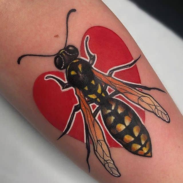️ Wasp for Payton ️ ______________________________________edinburgh edinburghtattoos tattoo scotland tatted tattoos tattooed tattooer studioxiii tattooing tattooculture tattooart tattooshop tattooist ink inked inkedup instart instatattoo follow neotradeu neotradsub neotraditional picoftheday tattoo4life insect wasp