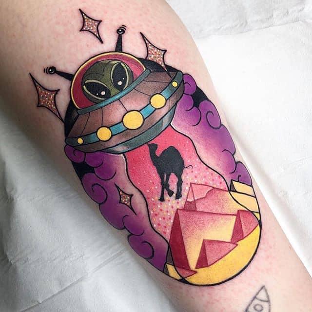 ?UFO on Hanna ? ______________________________________edinburgh edinburghtattoos tattoo scotland tatted tattoos tattooed tattooer studioxiii tattooing tattooculture tattooart tattooshop tattooist ink inked inkedup instart instatattoo follow neotradeu neotradsub neotraditional picoftheday tattoo4life ufo pyramid