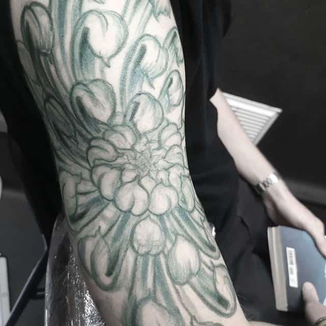 And I&039;m freeeee.... Freeehanding. studioxiii freehand sketching tattooing tattooart freehandtattoo tattooart scotland edinburgh
