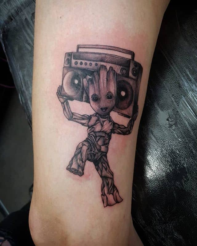 🌳 . . . . . . @marvel iamgroot groot marvel gaurdiansofthegalaxy tattoo studioxiii tattooartist tattooartistuk edinburgh ink tattoos inked tattooed picoftheday art love pic photooftheday photo blackandgrey instagram artist design tattooer