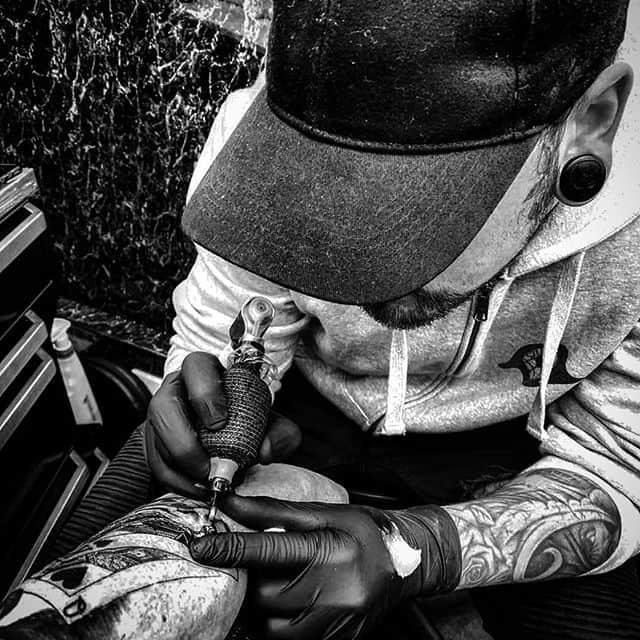 B n G Warlord @studioxiiigallery . . . . . . tattoo studioxiii tattooartist tattooartistuk edinburgh ink tattoos inked tattooed picoftheday art love pic photooftheday photo blackandgrey blackngrey instagram artist design tattooer
