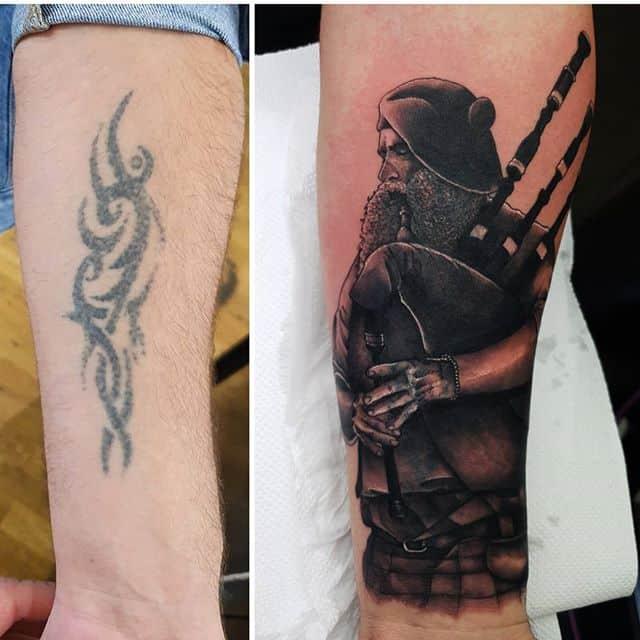 🔄 . . . . . tattoo coveruptattoo badpipes scotland studioxiii tattooartist tattooartistuk edinburgh ink tattoos inked tattooed picoftheday art love pic photooftheday photo blackandgrey blackngrey instagram artist design tattooer