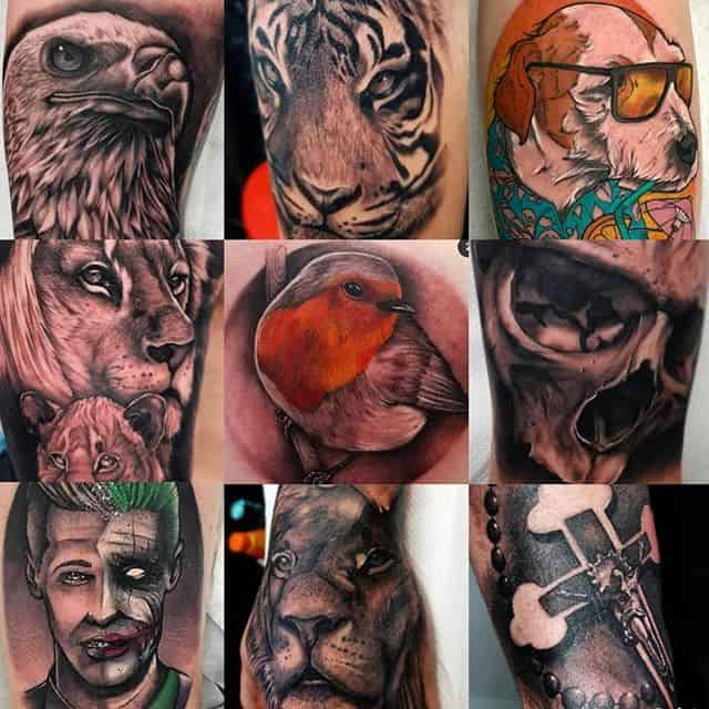 """That&039;s all from me for this year folks. Thankyou to all the people who have come to get work from me! 🖤 Its been a blast! """"2019?....completed it mate"""" . . . . . tattoo studioxiii tattooartist portfolio newyear tattooartistuk edinburgh ink tattoos inked tattooed picoftheday art love pic photooftheday photo blackandgrey blackngrey instagram artist design tattooer"""
