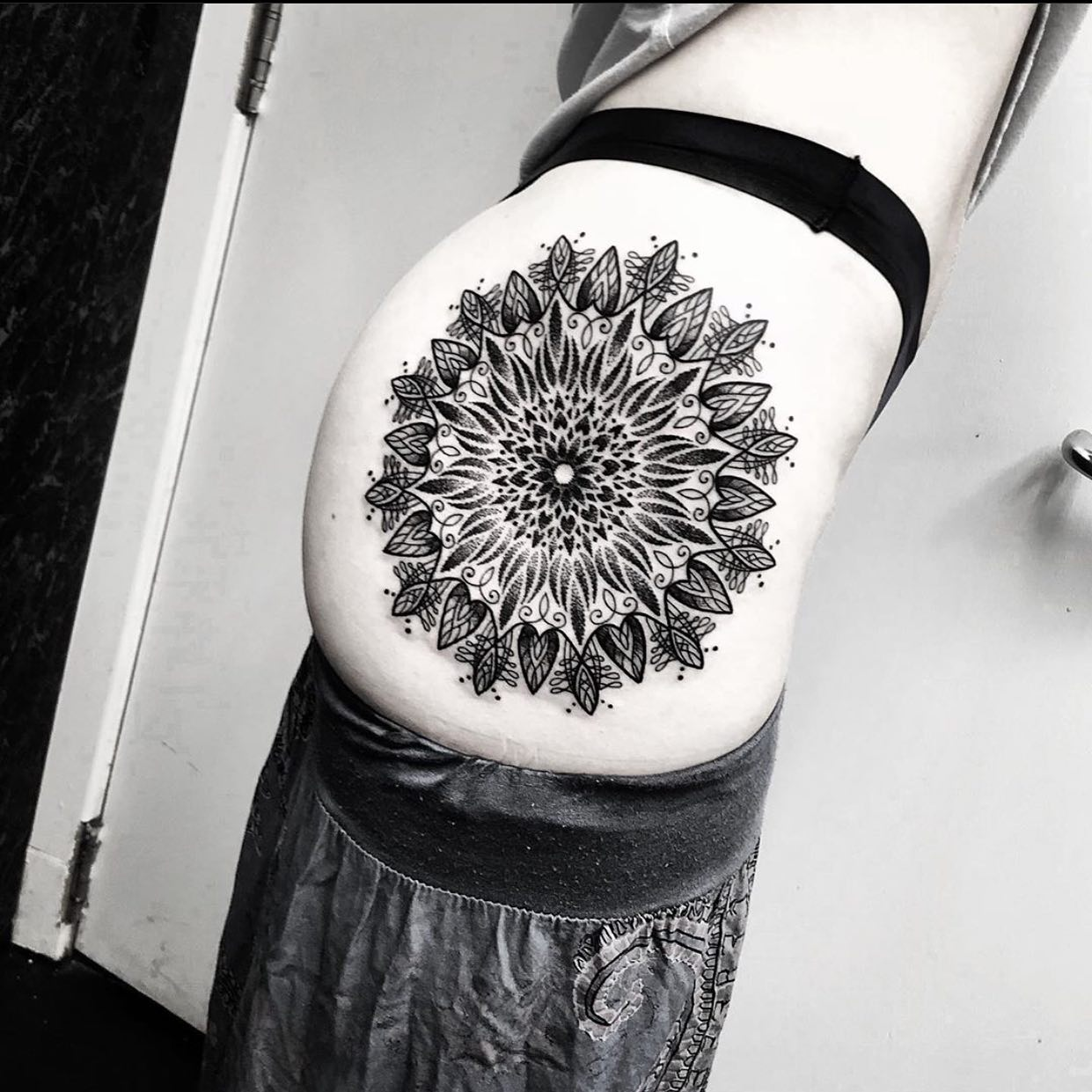 Perfectly executed butt mandala from @marcdiamondtattoo Want one too? Get in touch! ————— ————— uktattooartists uktattoo inked inkedmag skinart skinartmag traditionaltattoo tradworkers colourtattoos scotland edinburghtattoo edinburghlife scotlandtattoo uktta oldschooltattoo fineline cleanwork inkdup inkd skindeep performer besttattoos blackclaw girlswithtattoos uktattoosupplies blackclaw solidink starbritecolors studioxiii @barber_dts @easytattoo_uk @eternalink @dynamiccolor @lockdownneedle @stencilstuff