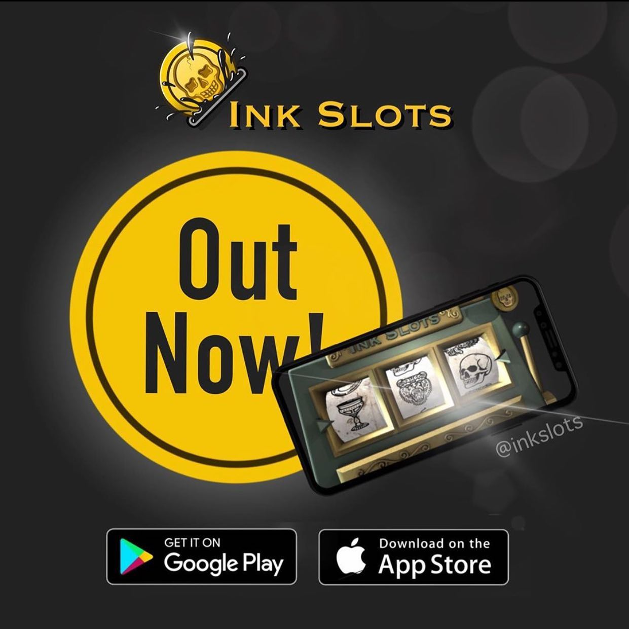 Our granda @vik_b_tattooer has been busting ass to produce this app for you all to get your creative juices flowing and it's now LIVE on your app stores.  Check out @inkslots now!!!!!! ———— ———— ️01315582974 artwork@studioxiii.tattoo studioxiii tattoos tattooed tattooflash blackworkers bandg realism realistictattoo skull skinartmag skulltattoo lion liontattoo tattooartist edinburghtattooartist edinburghtattoo girltattoo blackclaw uktta ttt eztattoocartridges ukbta skindeep txtooing tattoomediaink thebesttattooartist tattoosnob tattooartistic