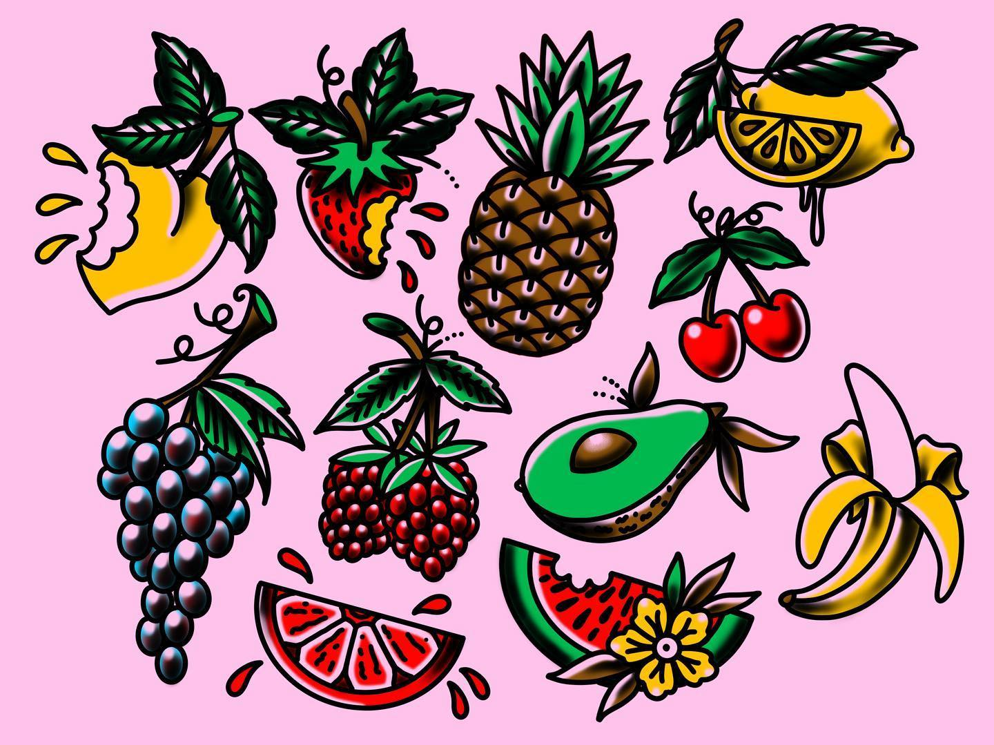 Come see me after lockdown @studioxiiigallery to help keep corona away with AT LEAST ONE of your 5 a day- deals on all 5 🤷♂️hope you're all still sane out there see u all in a few for a fruit salad and maybe a tattoo. fruittattoo bananatattoo strawberrytattoo lemontattoo cherrytattoo avacadotattoo pineappletattoo bloodorangetattoo grapetattoo raspberrytattoo peachtattoo watermelon tattooflash tattoodesign tattooart traditionaltattoos tradtattoos traditionaltattooing edinburgh scotland edinburghtattooer scottishtattooer studioxiii studioxiiigallery tattoosbyalanross alrosstattoo
