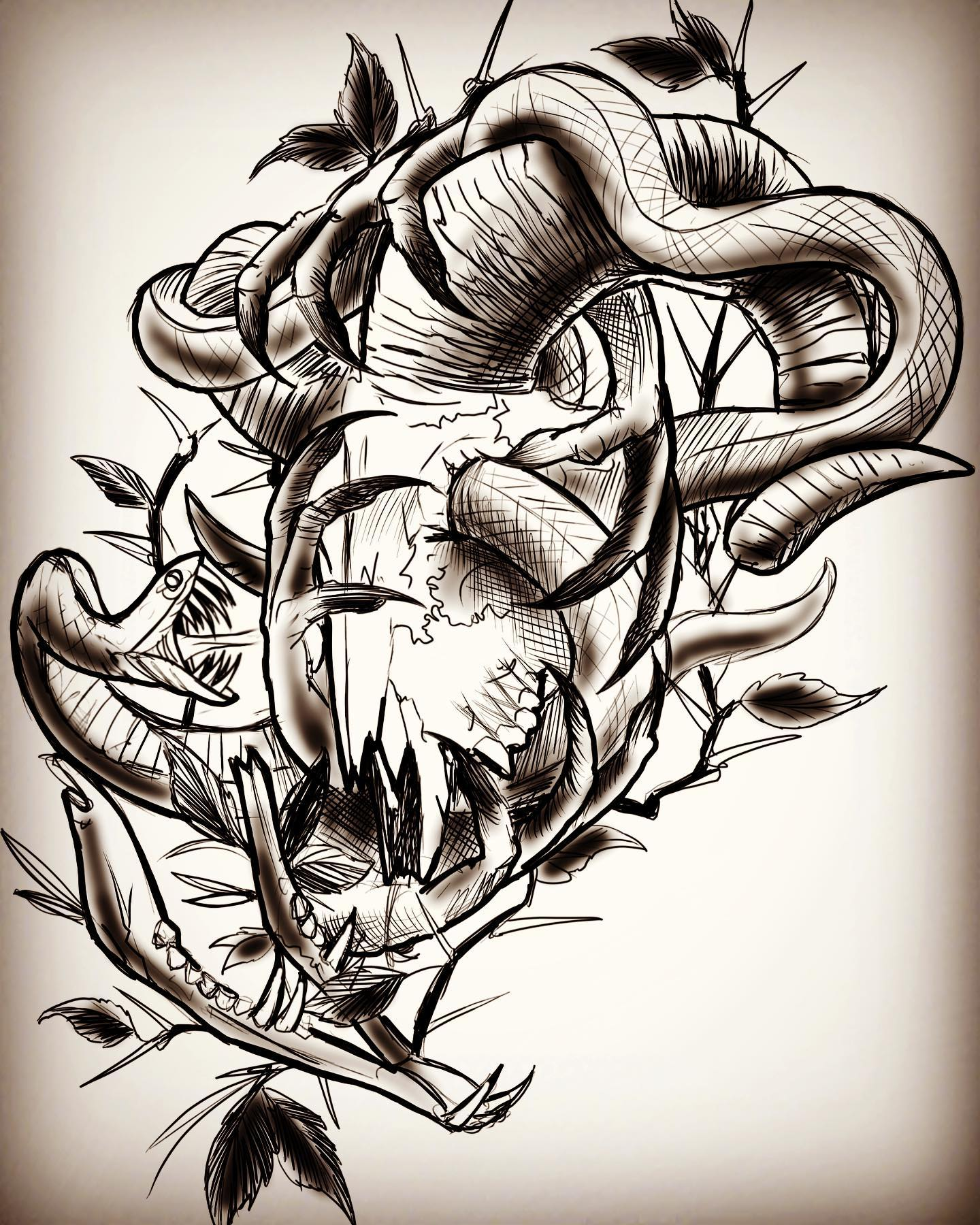 This one is taken but would love to do some darker designs like this once lockdown is over- hit me up if you would like something done like this! Thanks for looking ramskull snake ramskulltattoo snaketattoo tattoodesign aries ariestattoo blackwork darkart tattoos handstattoo creepyhands creepytattoo edinburghtattooer edinburgh scotland studioxiii studioxiiigallery alrosstattoo tattoosbyalanross