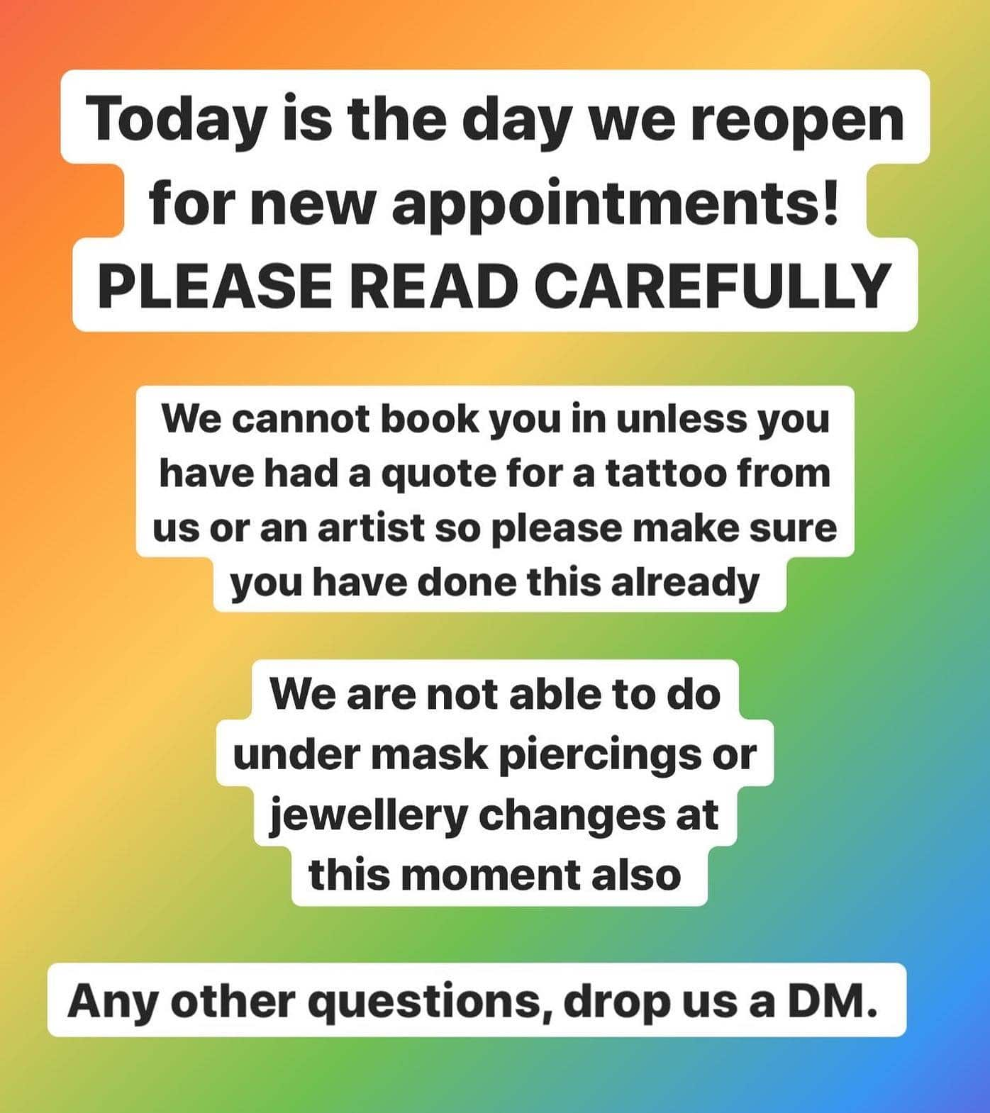 Please read carefully! Expect our phone and reception staff to be very busy today so please be patient! ————— ————— uktattooartists uktattoo inked inkedmag skinart skinartmag traditionaltattoo tradworkers colourtattoos scotland edinburghtattoo edinburghlife scotlandtattoo uktta oldschooltattoo fineline cleanwork inkdup inkd skindeep performer besttattoos blackclaw girlswithtattoos uktattoosupplies blackclaw solidink sailorjerry scottishtattoo thescottishtattoo studioxiii @barber_dts @easytattoo_uk @eternalink @dynamiccolor @lockdownneedle @stencilstuff
