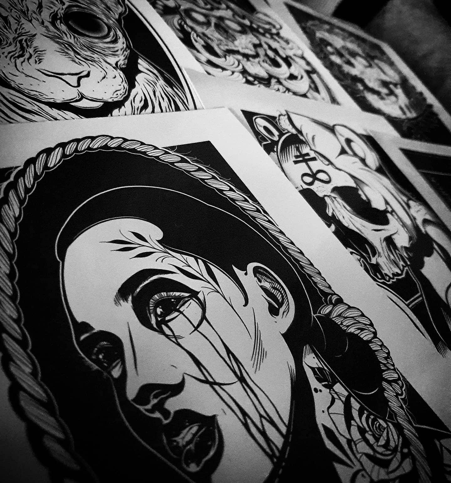 ■ P R I N T S ■ ________________ tattooprint prints artprints sale artdriven artist tattooartist creation art becreative creativeuprising artcollective artnerd scotland edinburgh edinburghtattooartist studioxiii instadrawing drawingstyle artprint drawingskills limitededition drawingchallenge mydrawings feature_my_stuff artdaily art_spotlight horror artjobsmag