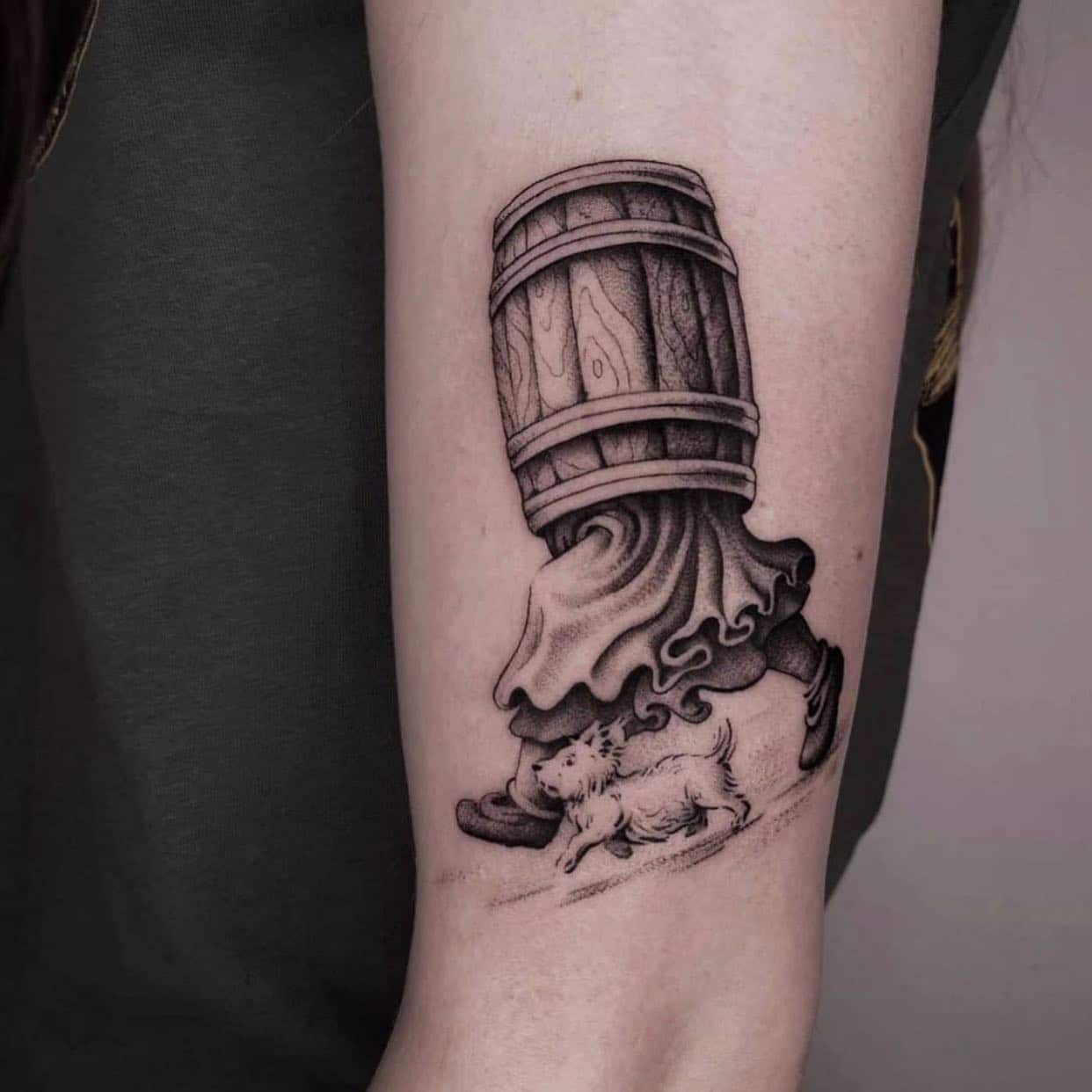 @vik_b_tattooer is obsessed with his barrel people and would love to do more!! At the moment his books are closed until November 16th but reception are more than happy to price any ideas you may have for Vik, so when his books do open, we will be able to book you in 🥳 —-  studioxiii tattoos tattooed tattooflash blackworkers bandg realism realistictattoo skull skinartmag skulltattoo lion liontattoo tattooartist edinburghtattooartist edinburghtattoo girltattoo blackclaw uktta ttt eztattoocartridges ukbta skindeep txtooing tattoomediaink thebesttattooartist tattoosnob tattooartistic