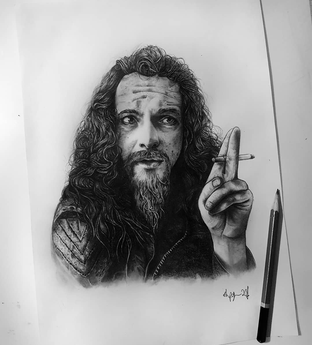 A little side project of mine... taking myself out of my comfort zone and trying something different, I&039;m practising black and grey portraits in pencil (not black ink whaaaat! ) of the artists I love. This is Ian Anderson from @jethrotull_ which took quite a time but was very fun to do 🖤 . . . . . . . . occultarcana artesobscurae btattooing flashworkers blackwork blackworkers blxckink darkartists darkart darkarts thedarkestwork onlyblackart onlythedarkest stabmegod blacktattoo metalhead blackmetal occult wiccac witchythings darkartistries edinburgh goth gothic studioxiii @artesobscurae @occultarcana @thedarkestwork @onlythedarkest @black_tattoo_culture @darkartists @wiccac @darkartistries