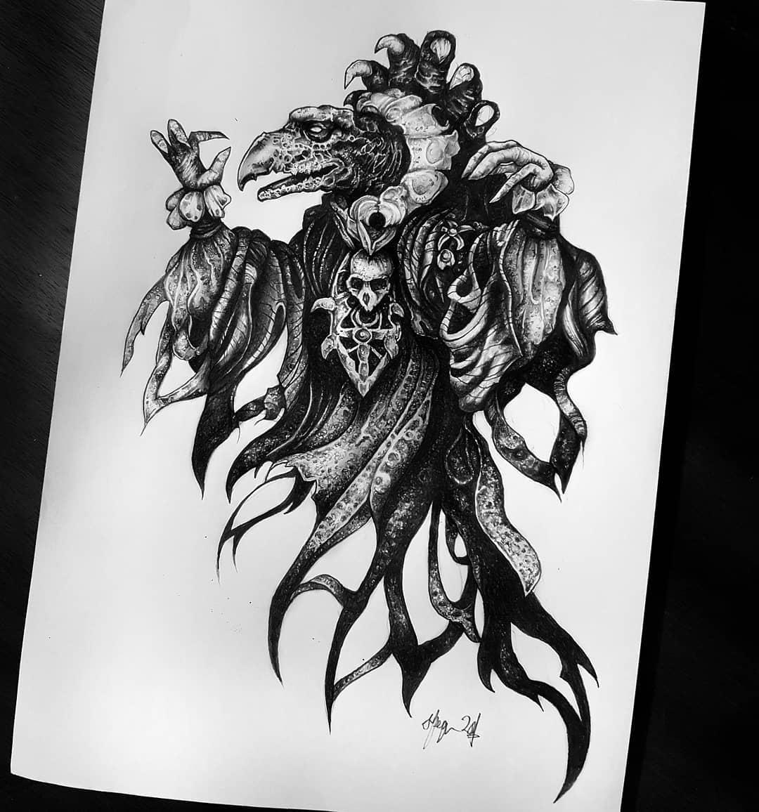 The Chamberlain (from the forever favourite The Dark Crystal 🖤) Available design, get in touch at goatskullshirley@gmail.com for booking details 🦇🦇🦇 . . . . . . occultarcana artesobscurae btattooing flashworkers blackwork blackworkers blxckink darkartists darkart darkarts thedarkestwork onlyblackart onlythedarkest  blacktattoo metalhead blackmetal occult wiccac witchythings darkartistries edinburgh goth gothic studioxiii @artesobscurae @occultarcana @thedarkestwork @onlythedarkest @black_tattoo_culture @darkartists @wiccac