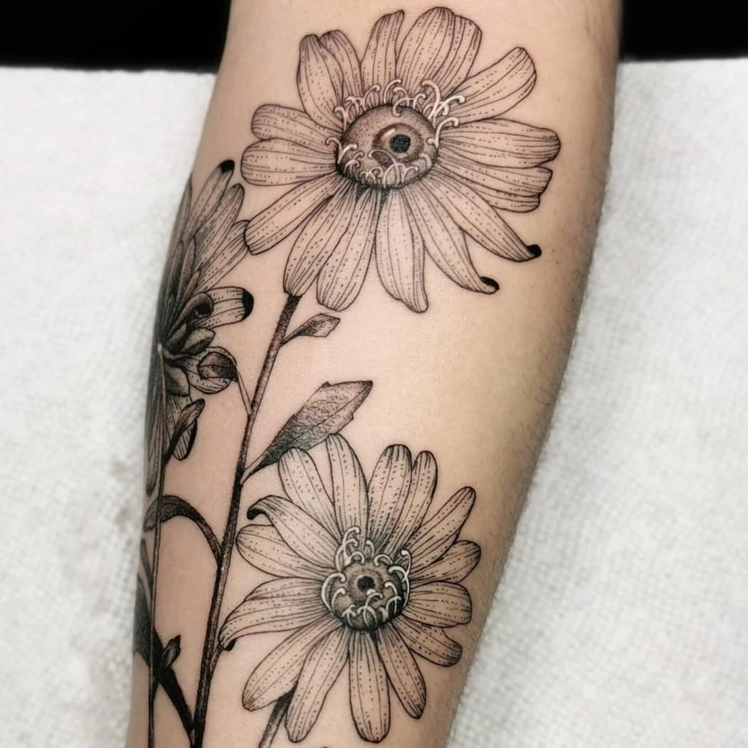 Cool    with  for buds done in  . . Swipe to see the full tattoo .  .