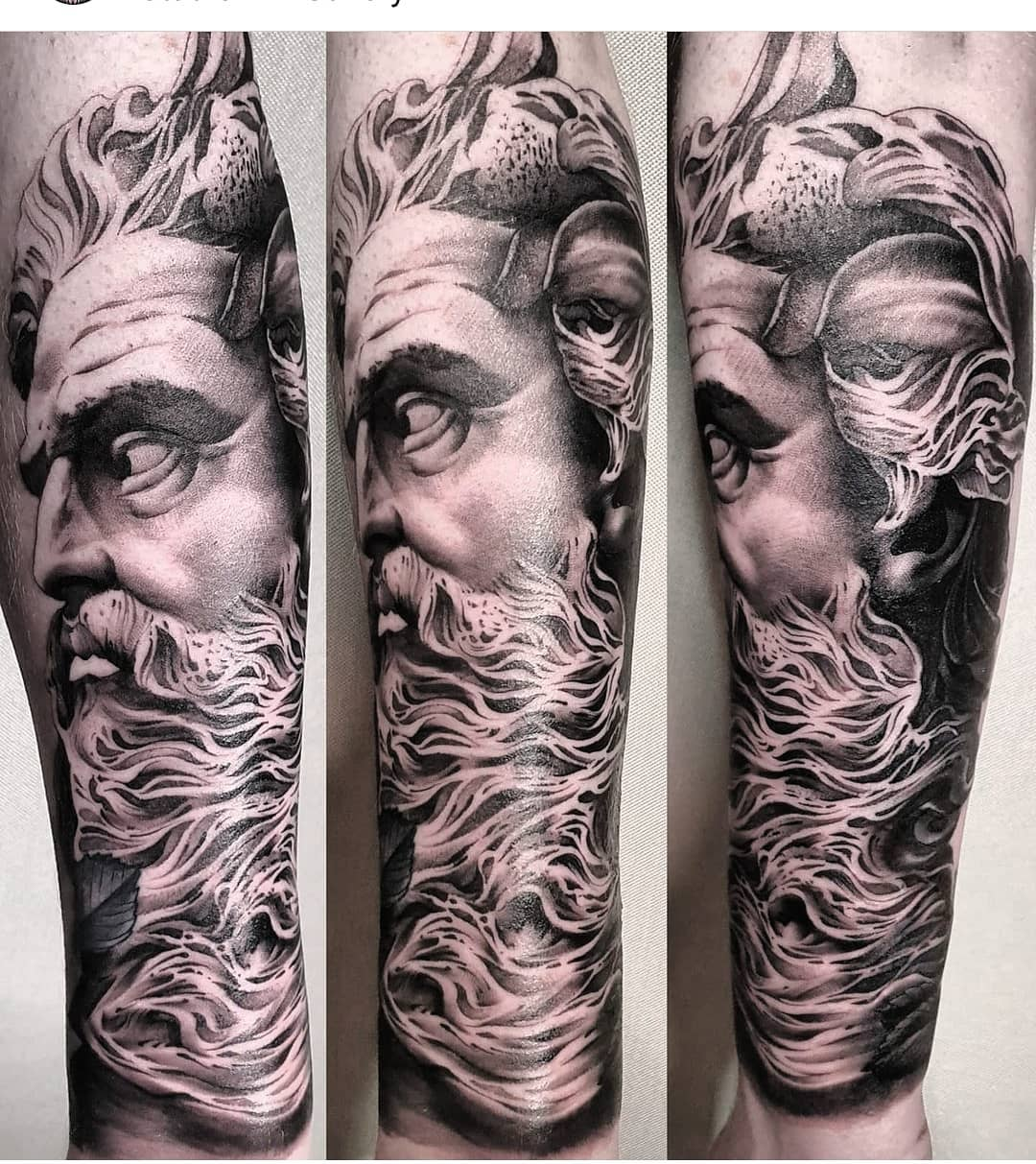 An elderly bearded Greek gentleman who is fond of the sea ____________________________________