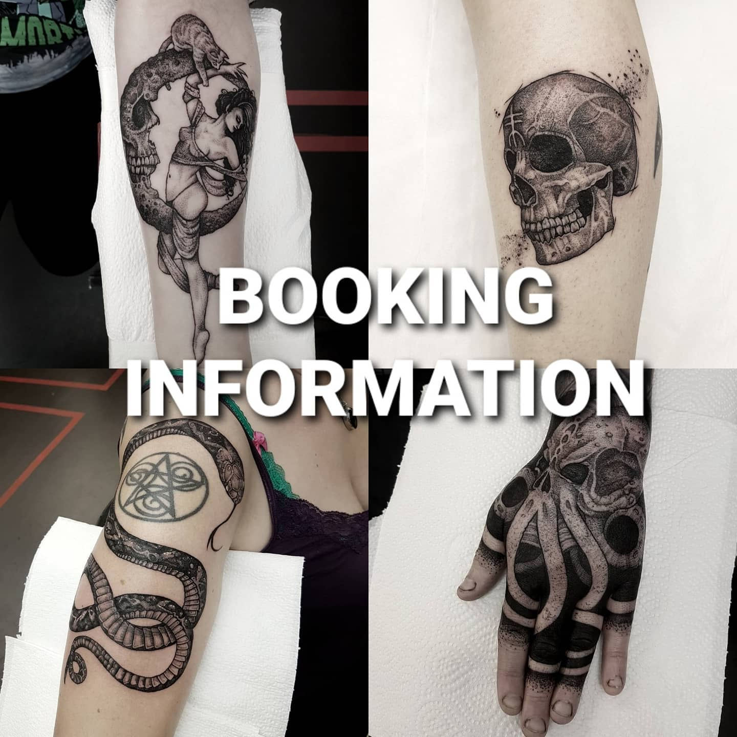 ***New bookings info*** first of all, thanks to everyone who has been in touch the last few months 🖤 I'm starting email consultations from tomorrow for new appointments, and the studio will start booking these in from April 26th! If you want to book in, email me at goatskullshirleygmail.com with the following info: design idea, with reference pics if you have any (max of four), placement and size(width and height in cm), a photo of the placement with a pen line outlining where you want the tattoo (as close to accurate in size as possible is super handy!). I'll get a timescale and quote figured out with you, and from the 26th, Studio XIII will get you all booked in! Dying to be back in the studio and getting back to work! 🖤💪🖤 . . . . . . . .                       thedarkestwork darkartists artesobscurae uktta wiccac stabmegod onlythedarkest blacktattooing