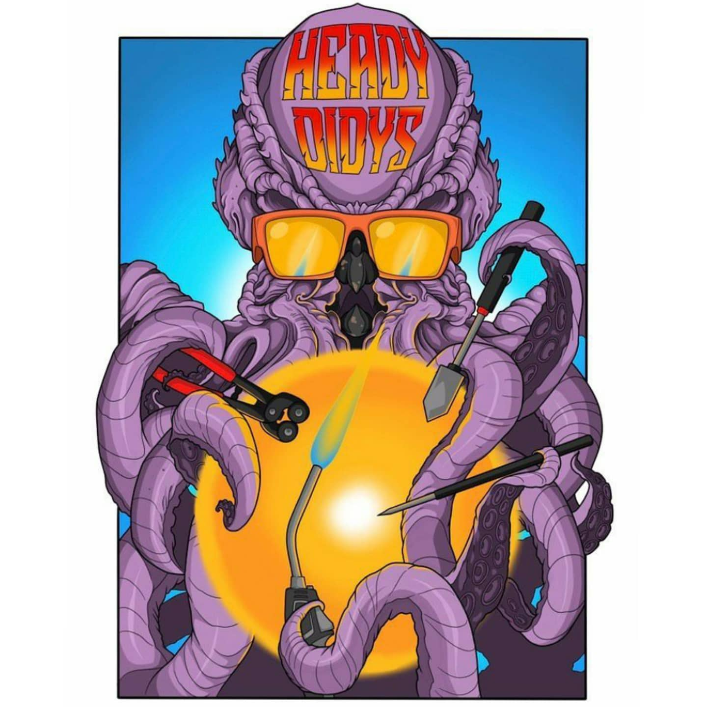 Logo design for hoodrattshit & headydidys (coming soon) 🤙😎 _________________________________