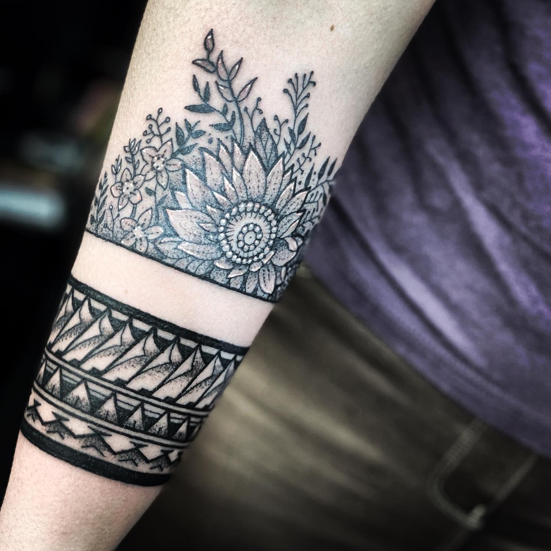 Floral forearm for marieamcfarlane studioxiiigallery studioxiiigallery   influenced