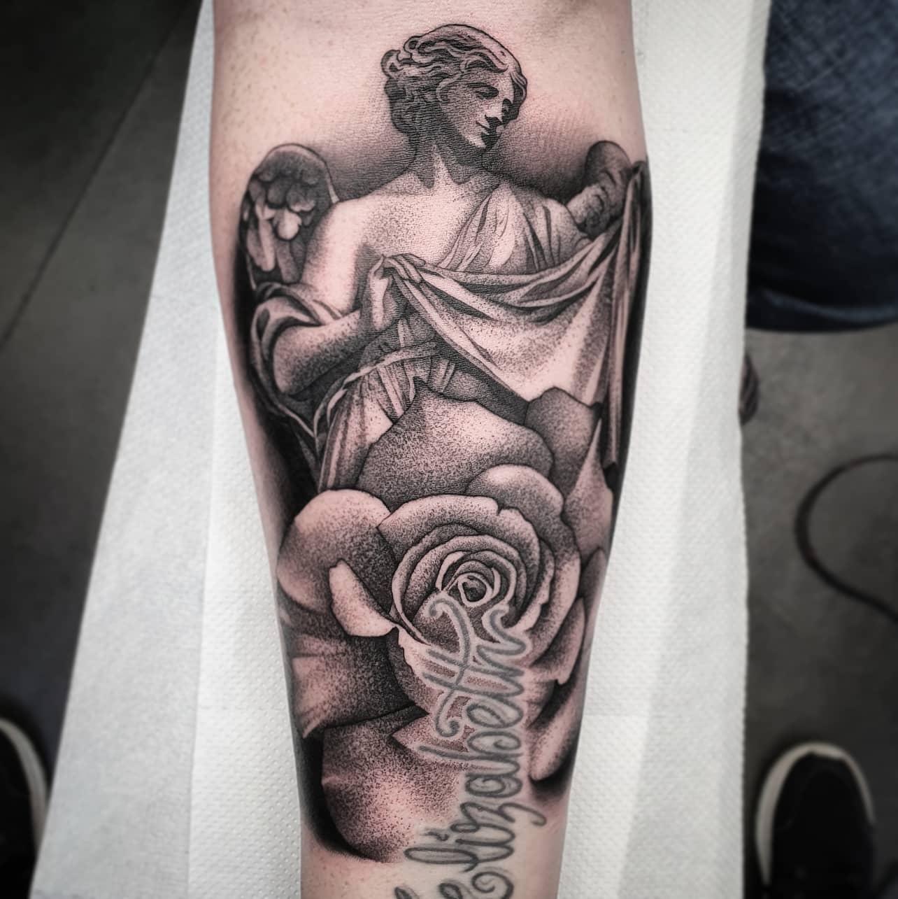 Fun piece from today. First piece using my new   studioxiiigallery cheyenne_tattooequipment  ______________________________________